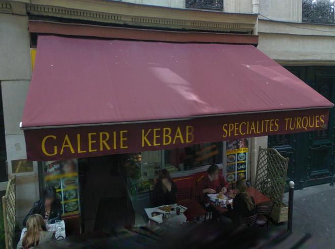 Galerie kebab à Paris 09