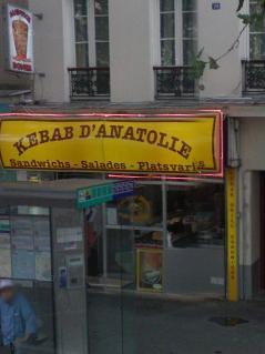 Kebab d'anatolie