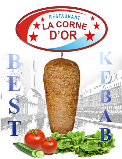 La Corne d'Or Best Kebab à Besançon