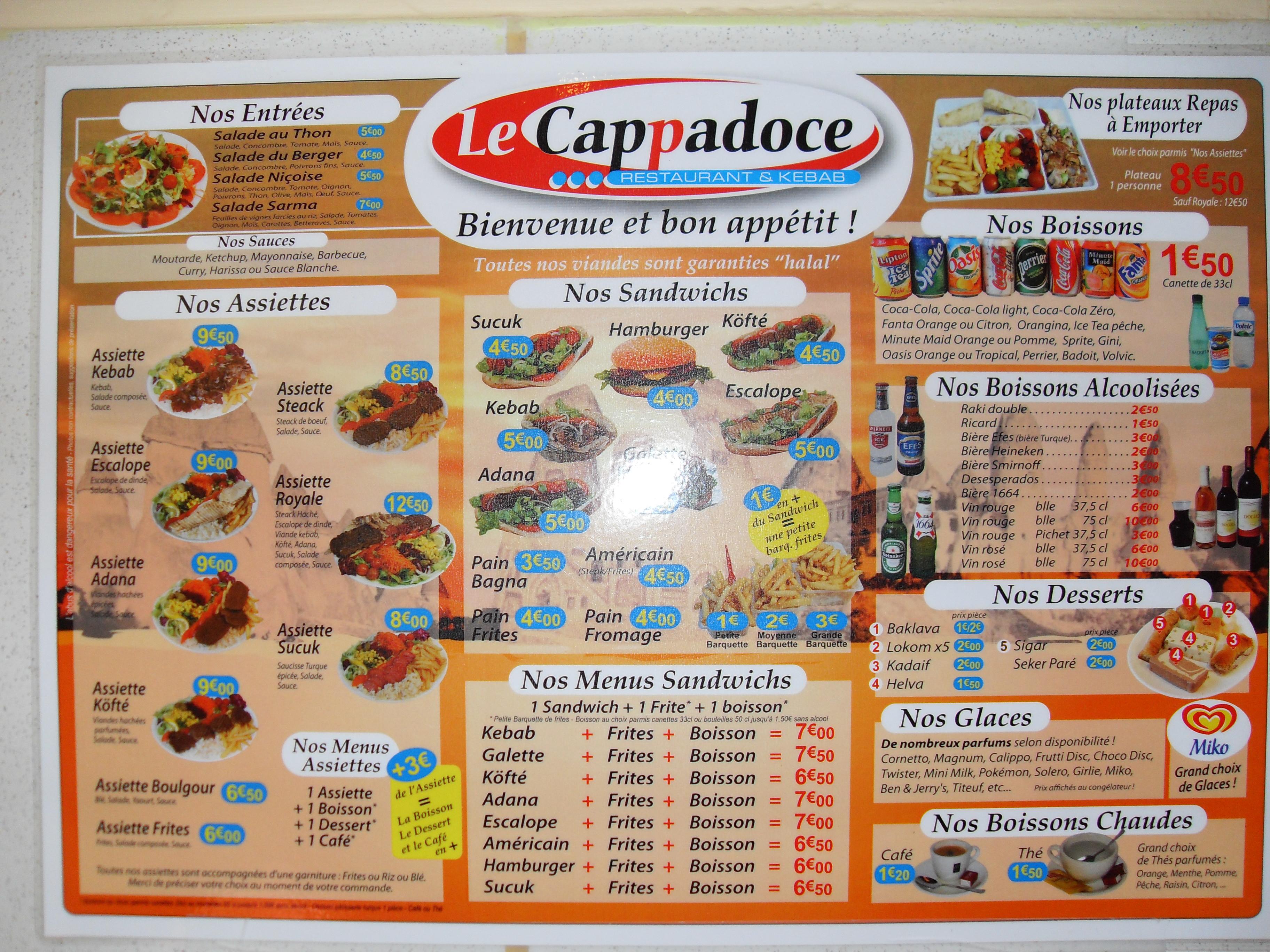 Le cappadoce kebab