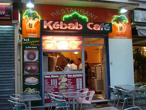 Kebab cafe