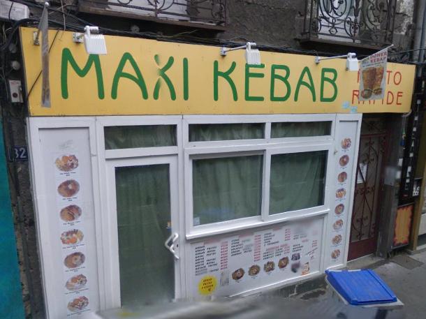 Maxi kebab à Nantes