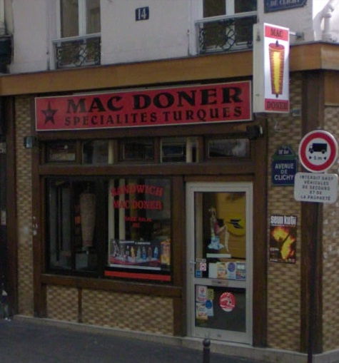 Mac doner - Paris 18