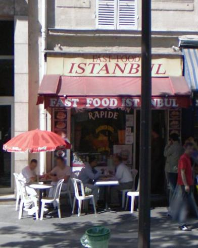 Fast food Istanbul à Paris 12