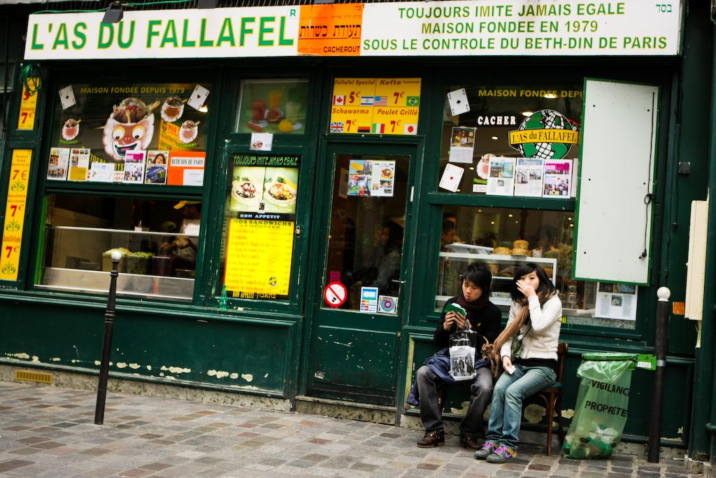 L'as du fallafel Paris 04