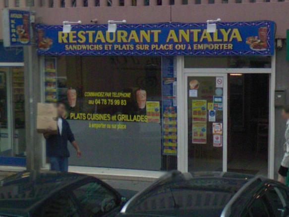 Antalya à Lyon