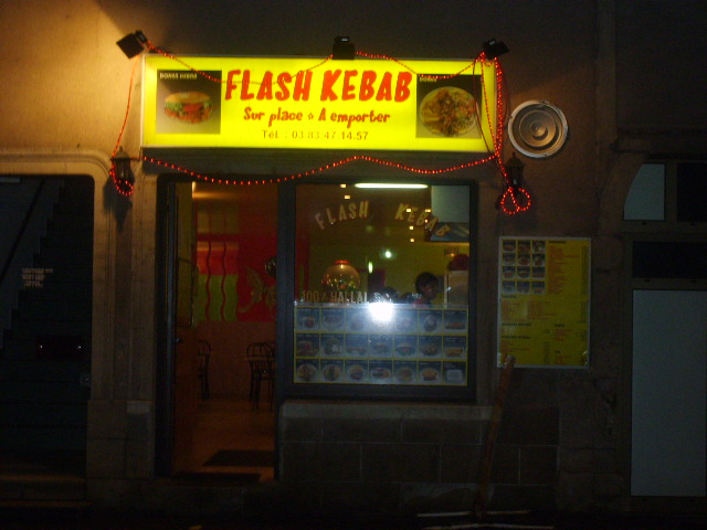 Flash kebab