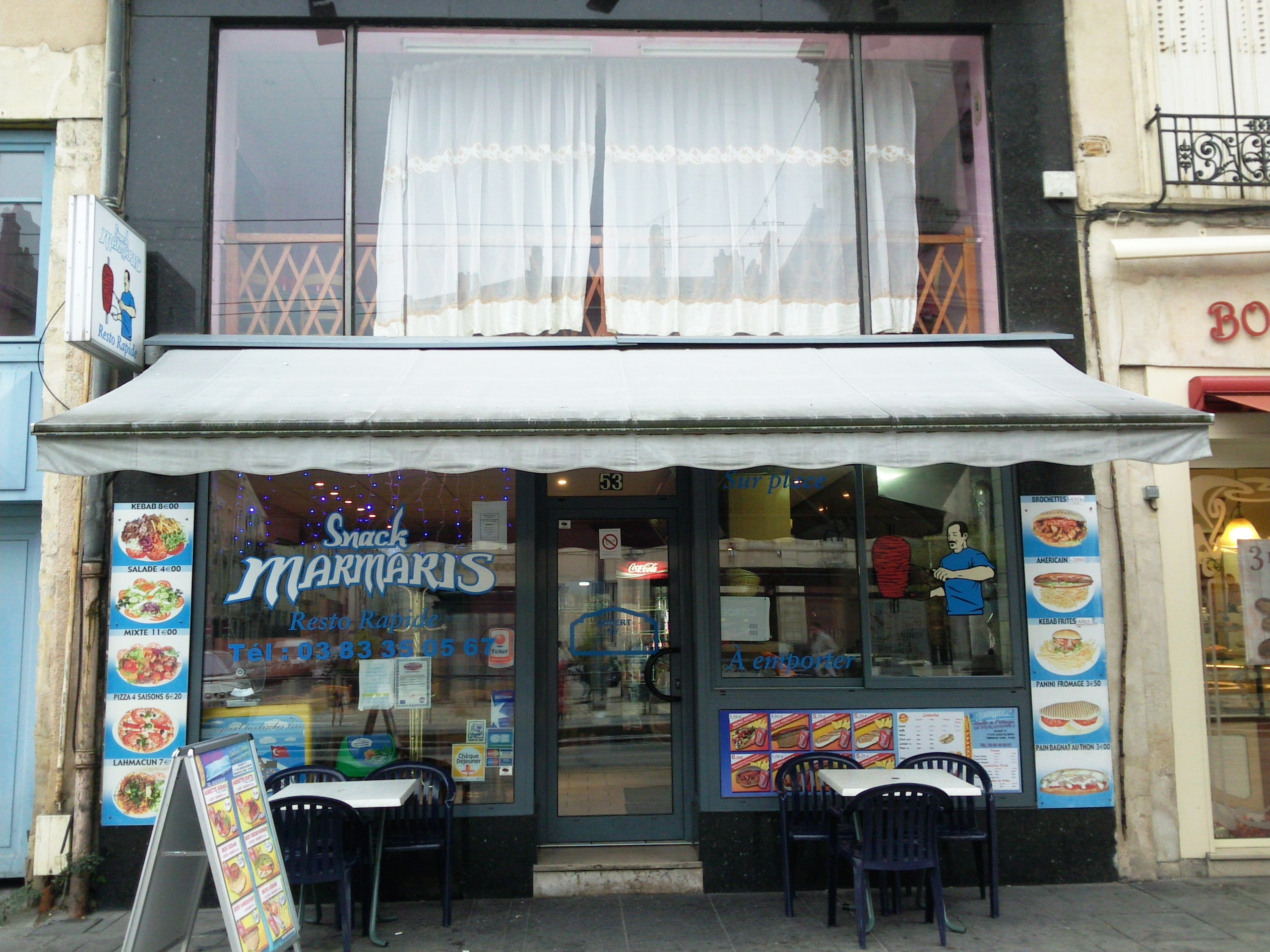 Restaurant Marmaris à Nancy
