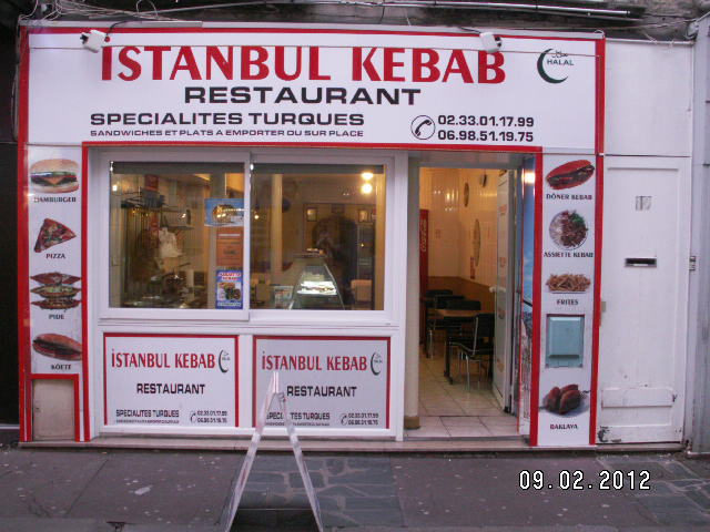 Istanbul kebab à Cherbourg-Octeville