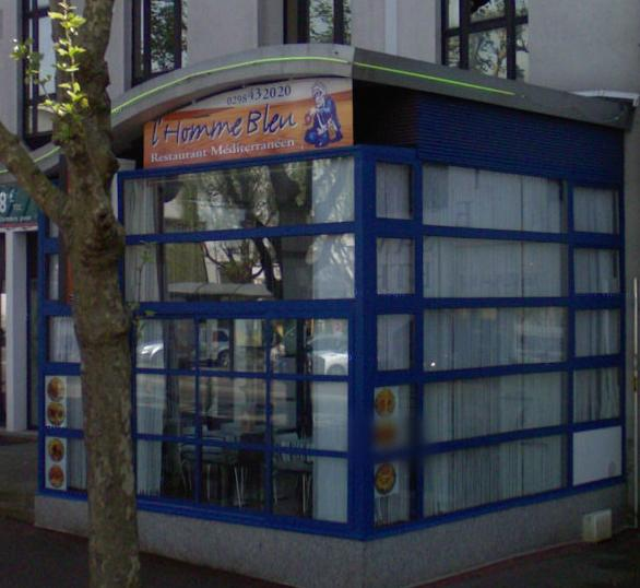 L'Homme Bleu - Brest