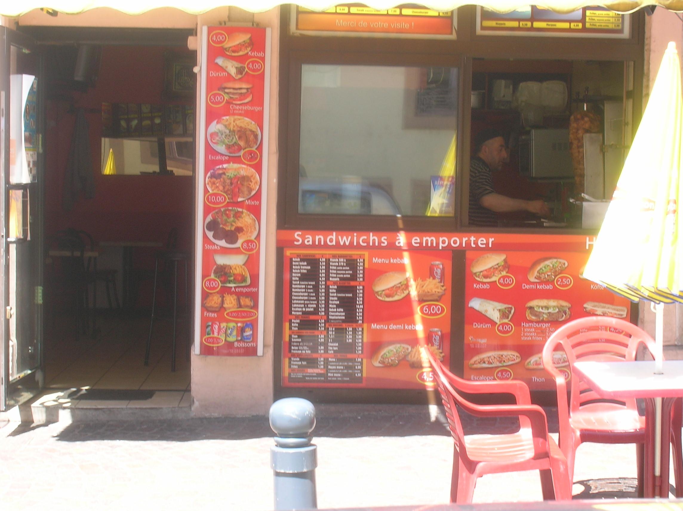 Kebab de la Paix à Montbéliard