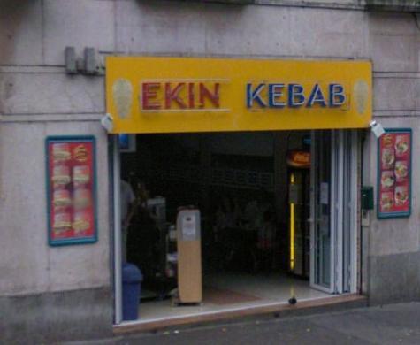 Ekin kebab - Dijon