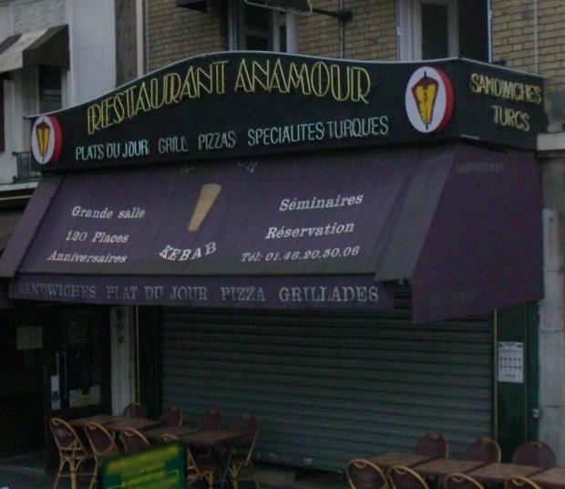 Anamour à Boulogne-Billancourt