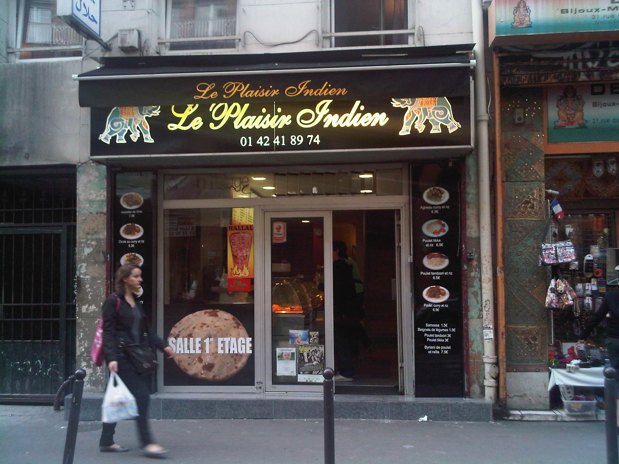 Le Plaisir indien Paris 10