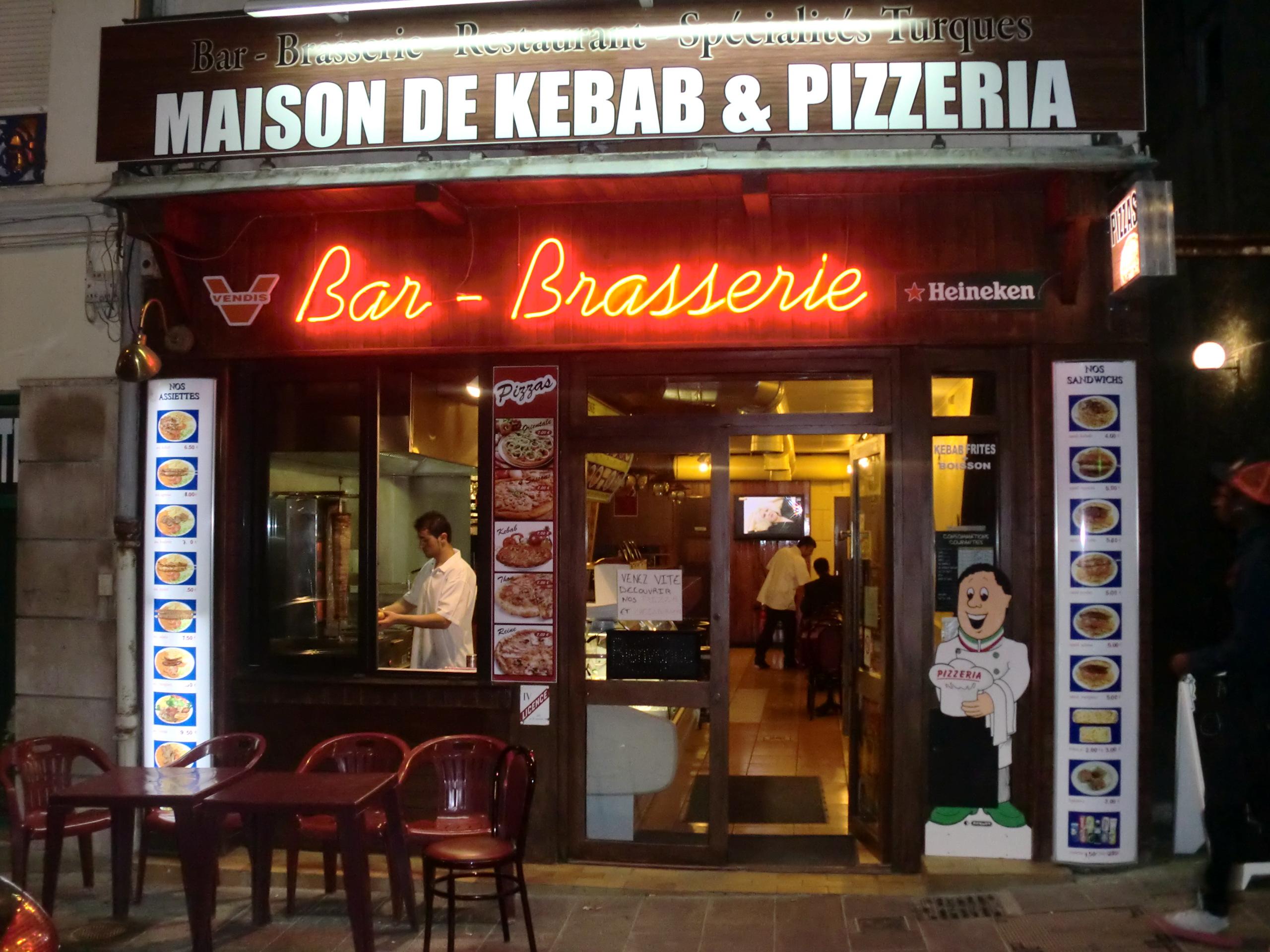Maison de kebab - Saint-Quentin