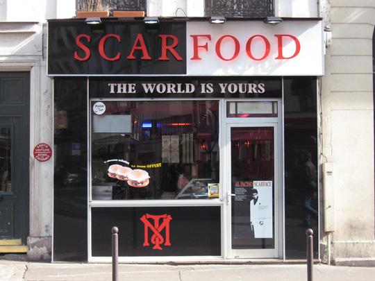 Scarfood - Paris 09
