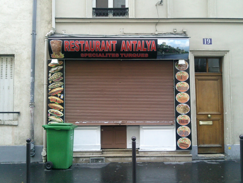 Restaurant Antalya à Paris 14
