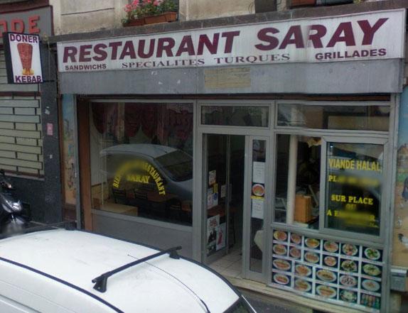Restaurant Saray à Paris 11