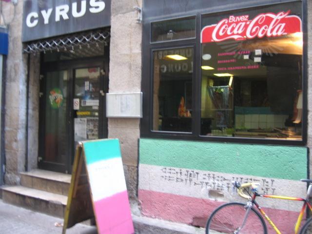 Restaurant Cyrus à Saint-Etienne