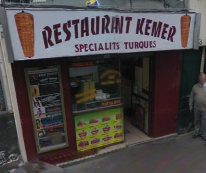 Restaurant Kemer - Paris 09