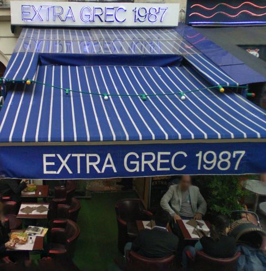 Extra Grec 1987 à Paris 09