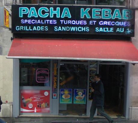 Pacha Kebab à Paris 09