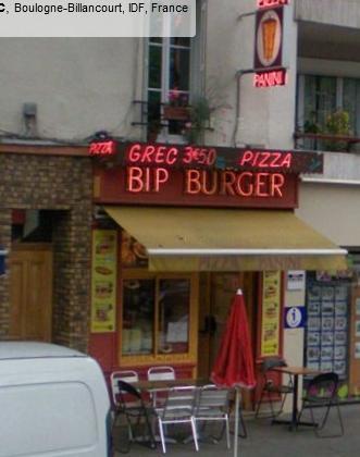 Bip Burger à Boulogne-Billancourt