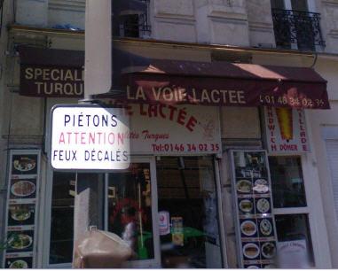 La Voie Lactée à Paris 05