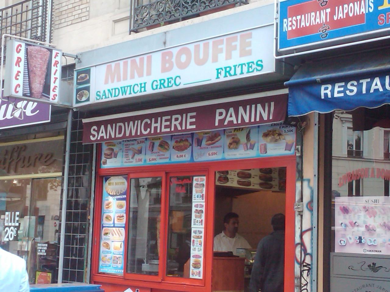 Mini Bouffe à Paris 12