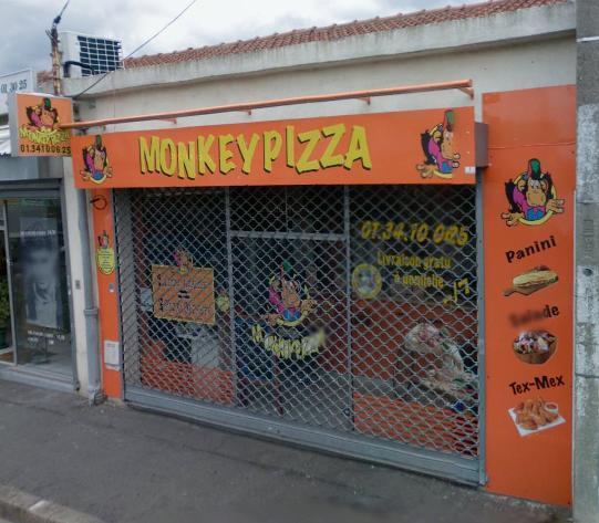 monkey pizza argenteuil avis tarifs horaires t l phone. Black Bedroom Furniture Sets. Home Design Ideas