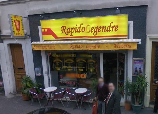 Rapido Legendre à Paris 17