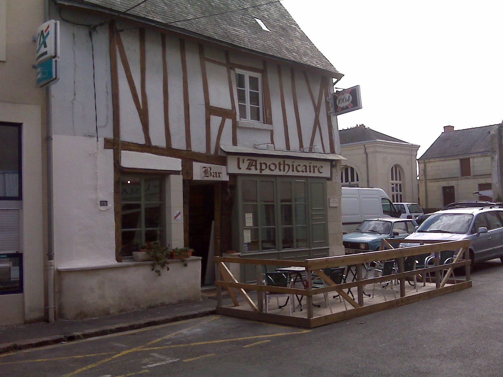L'Apothicaire à Montreuil-Bellay