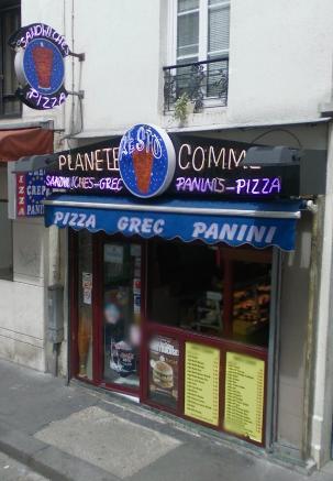 La porte St Denis à Paris 10