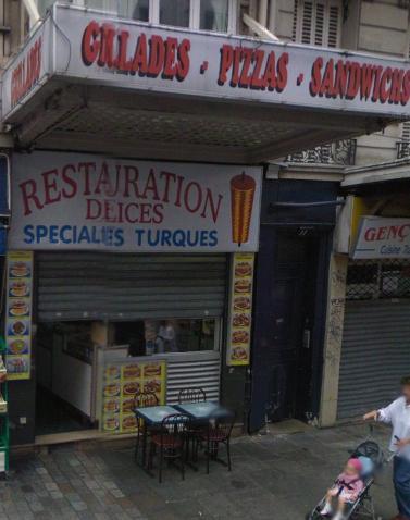 Restauration Delices - Paris 10