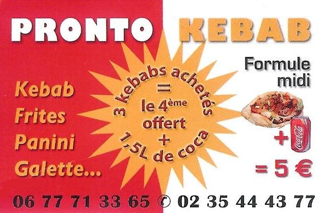 Pronto Pizza Kebab