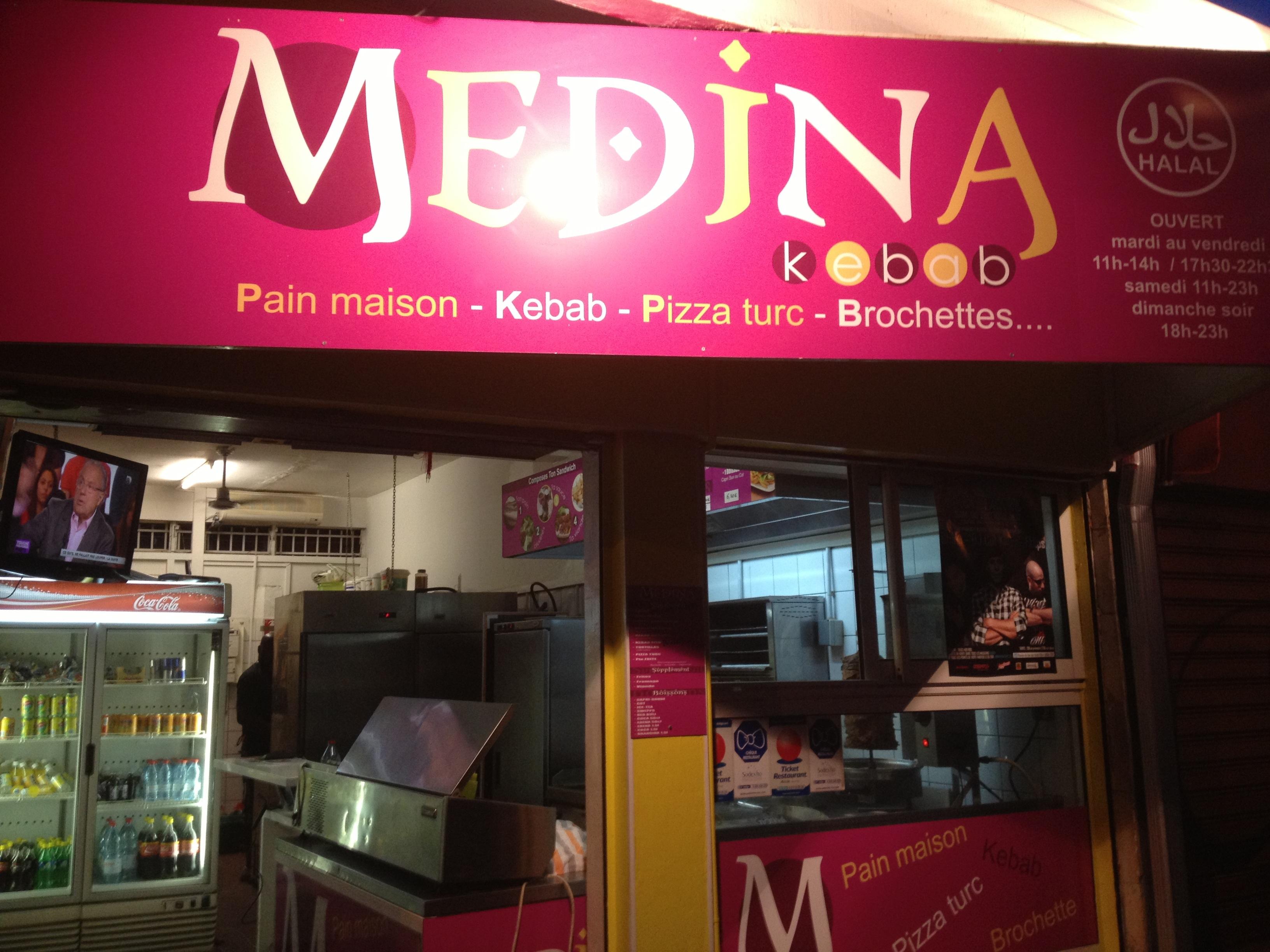 Medina Kebab Saint-Pierre