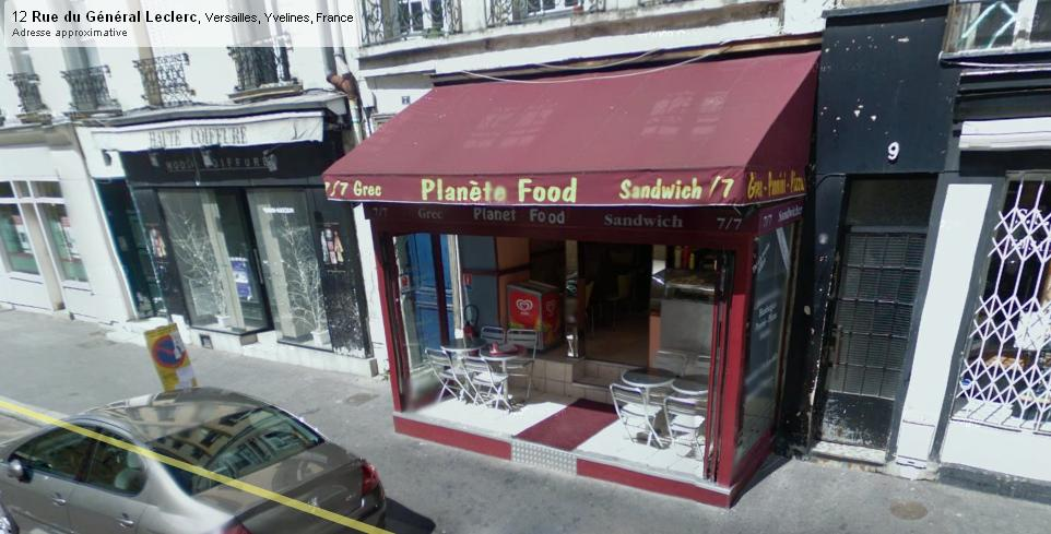 Planet Food à Versailles