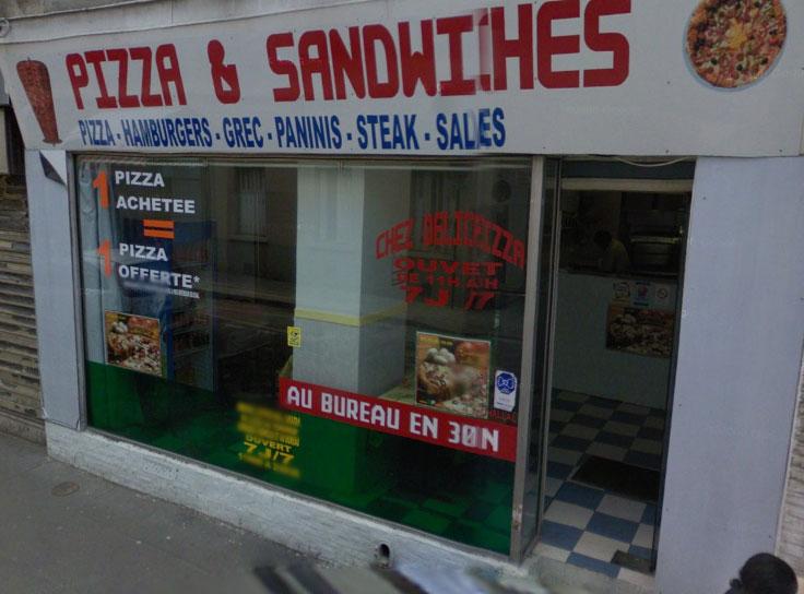 pizza sandwiches aubervilliers avis tarifs horaires t l phone. Black Bedroom Furniture Sets. Home Design Ideas