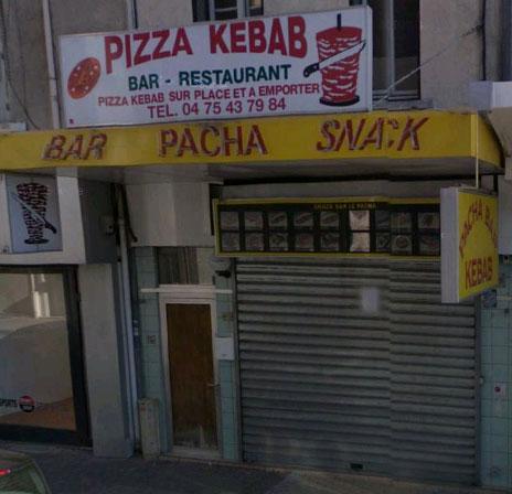 Pacha Bar Kebab à Valence