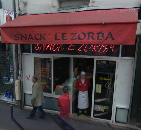 Snack Le Zorba