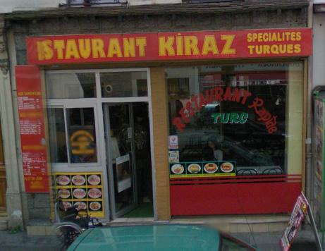 Restaurant Kiraz à Paris 12