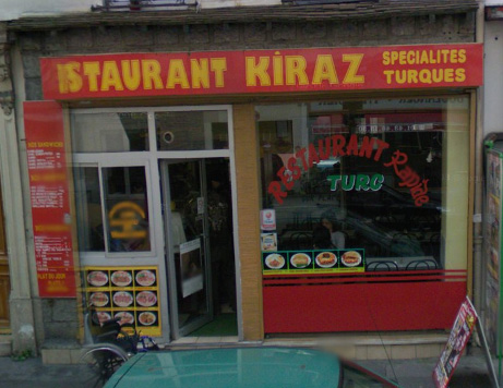 Restaurant Kiraz - Paris 12