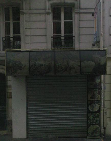 Sandwich Doner - Paris 14