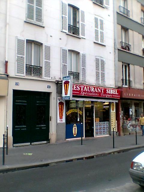 Restaurant Sibel à Paris 14