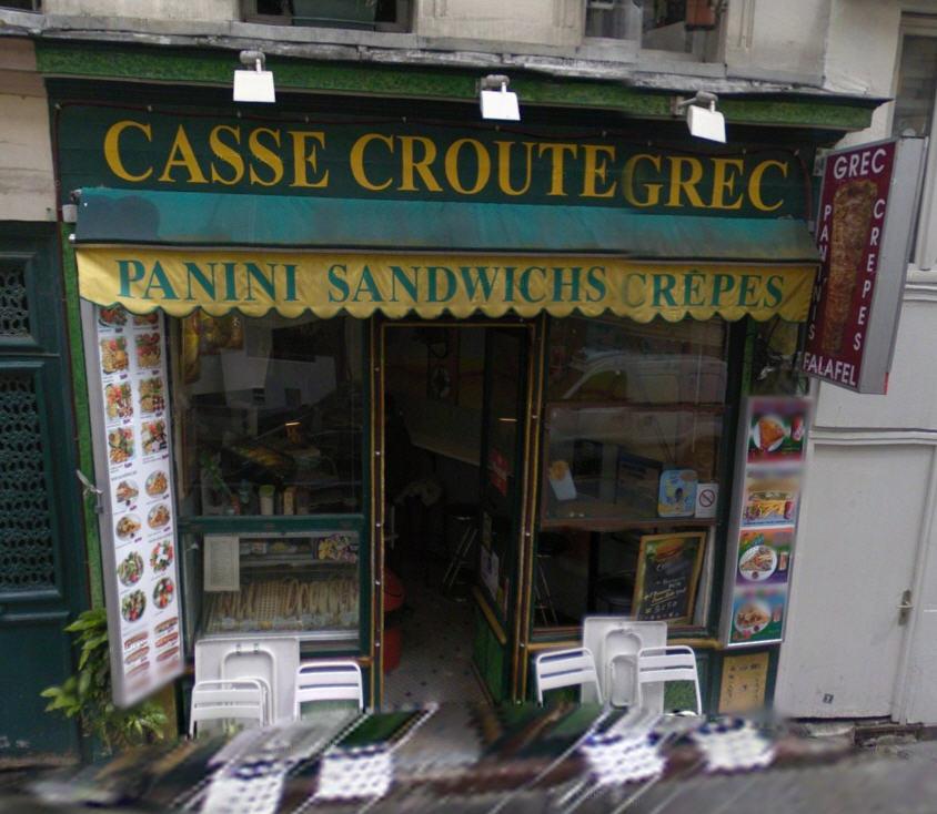 Casse Croute Grec à Paris 05