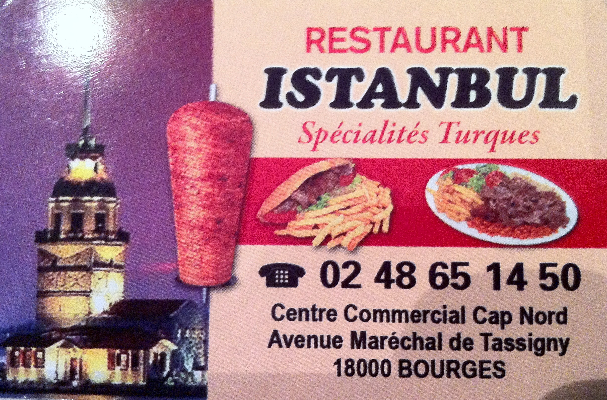 Restaurant Istanbul - Bourges