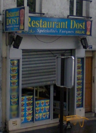 Restaurant Dost à Paris 17