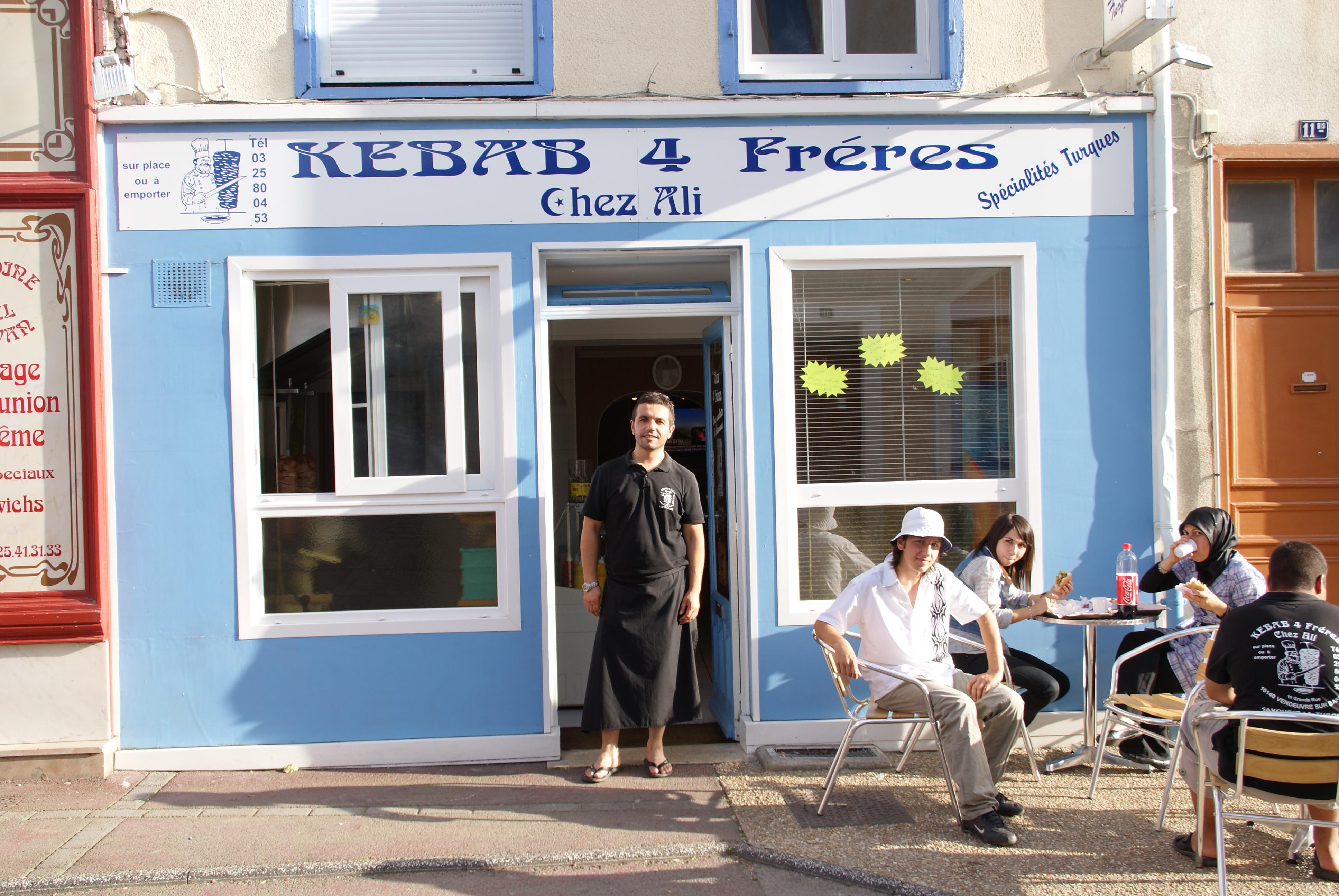 Kebab 4 freres Chez Ali