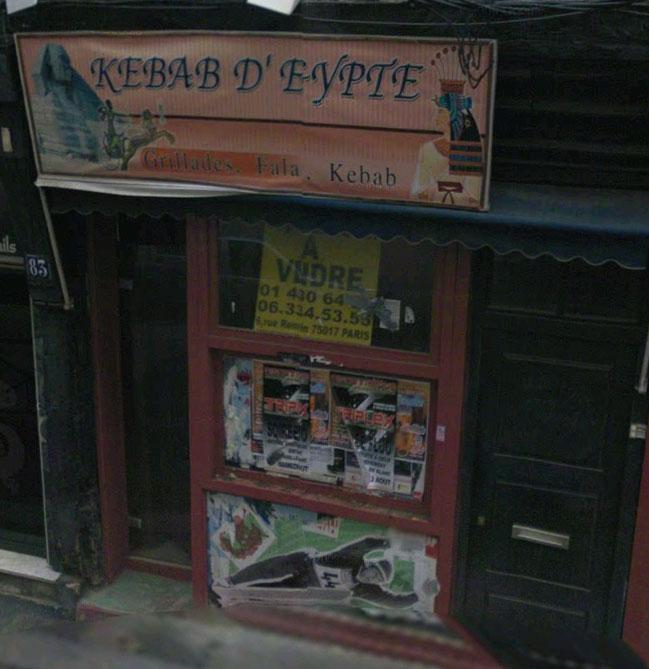 Kebab D'Egypte