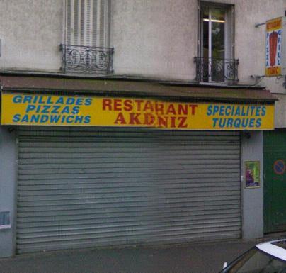 Restaurant Akdeniz - Paris 19